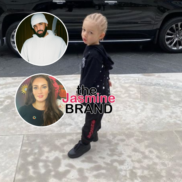 Drake & Sophie Brussaux Share Photos Of Son Adonis On His 1st Day Of School