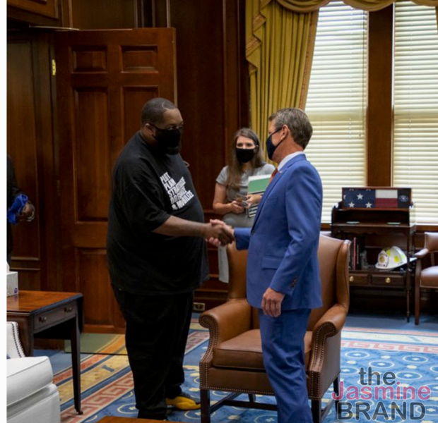Killer Mike Slammed For Meeting W/ Georgia Governor Brian Kemp