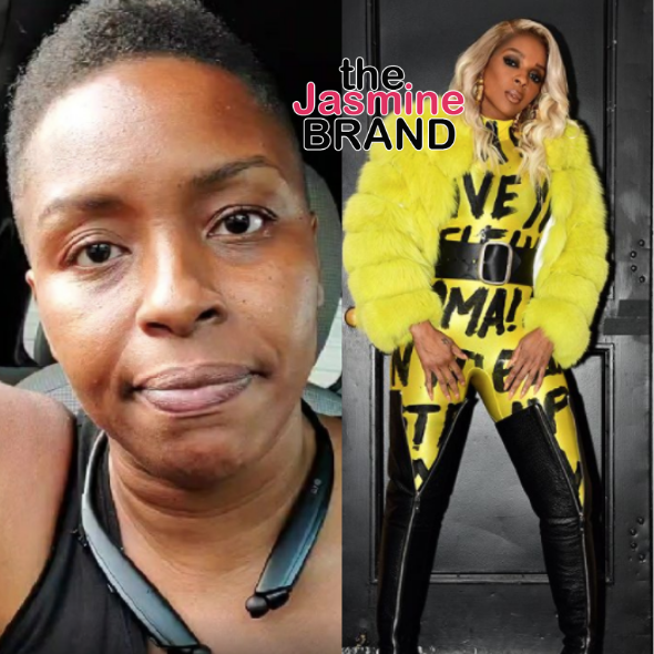 Mary J. Blige Accused By Jaguar Wright Of Hiding Her Sexuality: You're Hoping Nobody Finds Out You're Gay