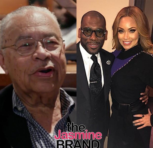 Gizelle Bryant's Dad Disapproves Of Her & Jamal Bryant's Relationship: He's Got 6,7 Baby Mamas