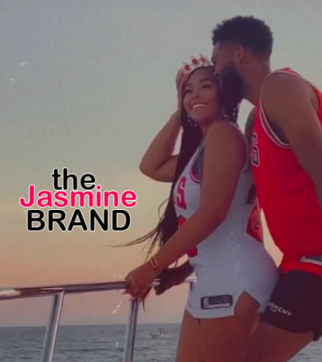 Jordyn Woods & NBA Player Karl Anthony Towns Fuel Dating Rumors As They Celebrate Her B-Day Together