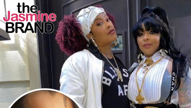 Da Brat's Girlfriend Jesseca Dupart Posts Cryptic Messages Following LisaRaye & Da Brat's Heated Exchange