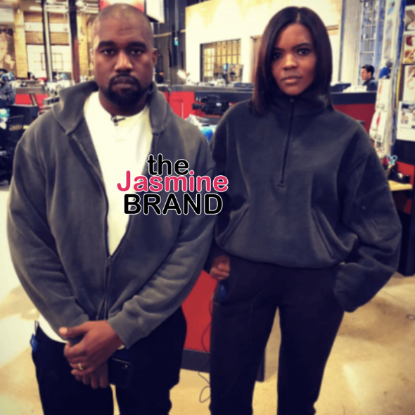 Kanye West Shows Love To Candace Owens, Receives Backlash