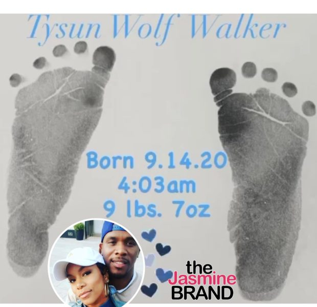 LeToya Luckett & Husband Tommicus Walker Welcome Second Child Together