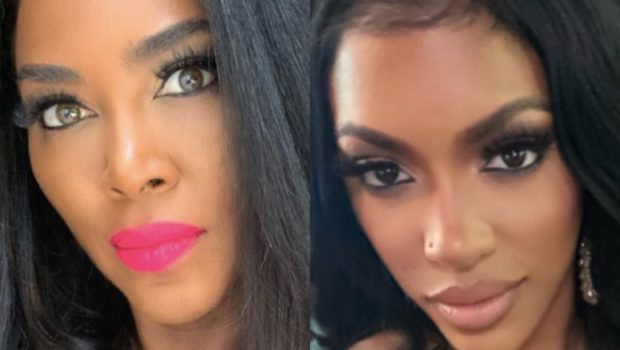 Kenya Moore Suggests Porsha Williams Got Arrested For Activism On Purpose: Maybe They're Putting Themselves In A Position To Be Arrested