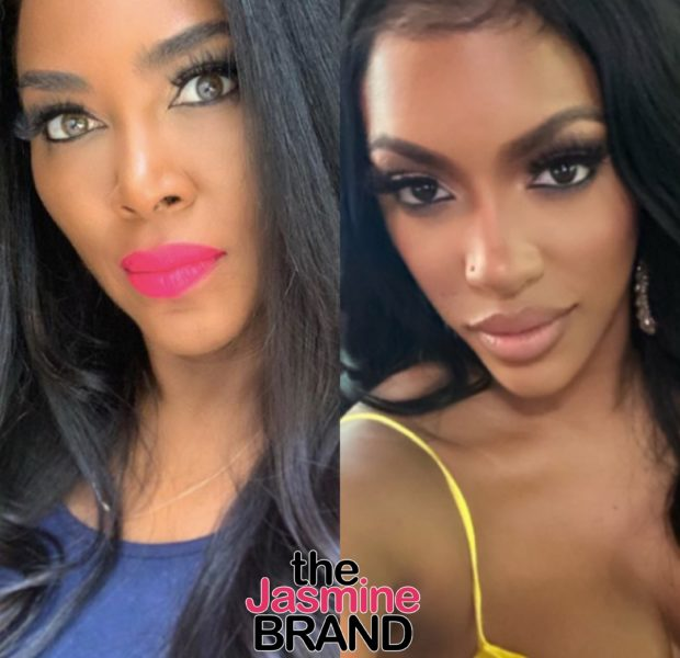 Kenya Moore & Porsha Williams Argue As Porsha's Accused Of Using Activism For Storyline: Be REAL On & Off Camera!