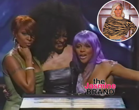 Mary J. Blige Was 'Really Pissed' When Diana Ross Flicked Lil Kim's Breast At The 1999 VMAs
