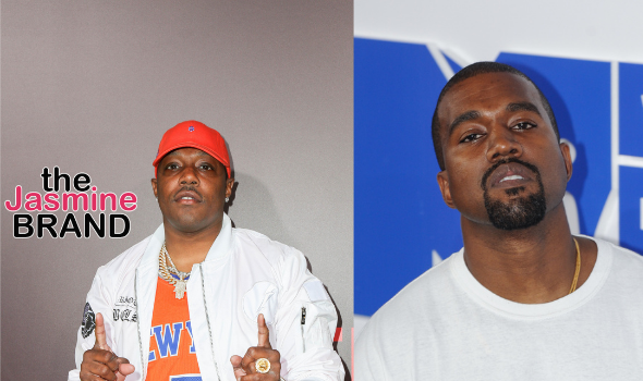 Kanye Reacts To Mase Demanding An Apology