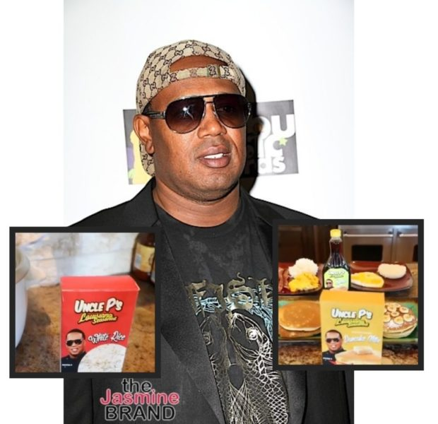 Master P Introduces New Line Of Pancake Mix & Rice As Alternative To Aunt Jemima & Uncle Ben's