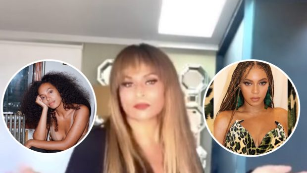"Tina Lawson Says She'll ""Beat Your A** About Both"" Of Her Daughters Solange & Beyonce"
