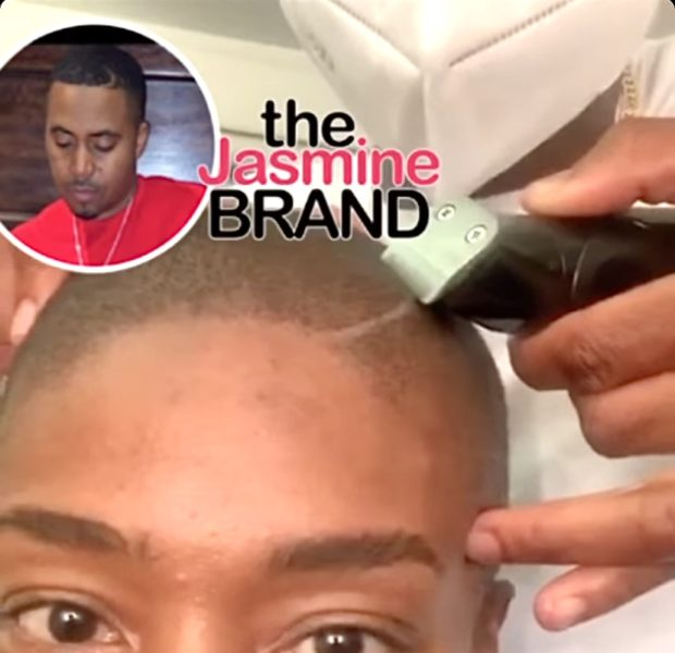 Tiffany Haddish Gets A Nas-Inspired Haircut [WATCH]