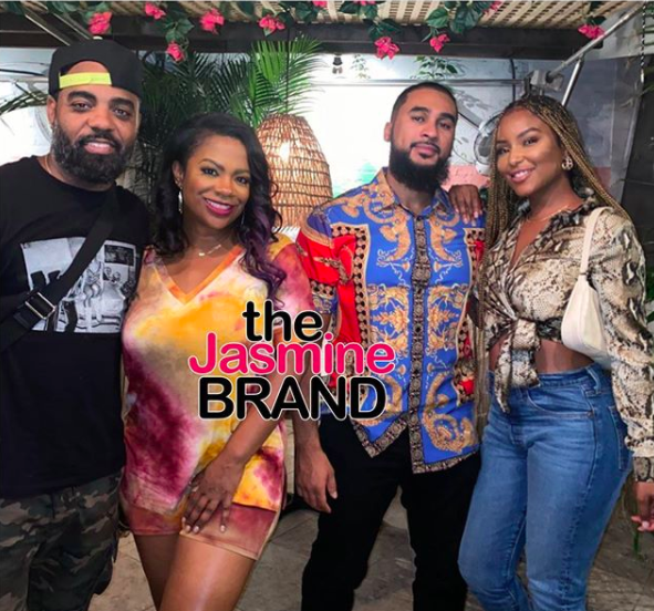 Kandi Burruss & Todd Tucker Double Date W/ Rumored 'RHOA' Cast Member LaToya Ali & Husband Adam Ali
