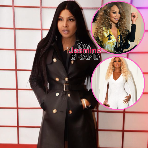 Toni Braxton Says She Could Only Do A Verzuz Against Mariah Carey Or Mary J. Blige