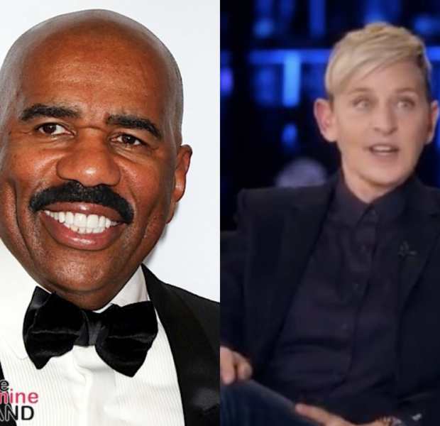 Steve Harvey Defends Ellen DeGeneres Amid Investigation: She Has No Control Over What Every Staff Member Does