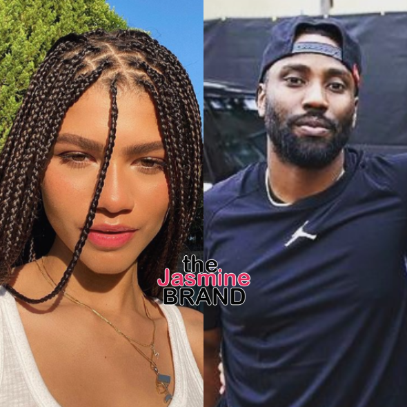 John David Washington Isn't Concern With Controversial 12-Year Age Gap Between Him & Zendaya In Netflix's 'Malcolm & Marie'