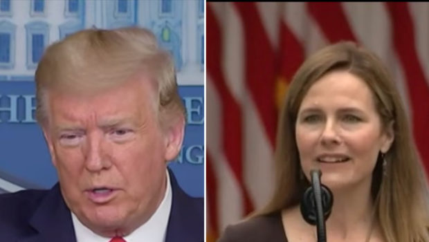 Trump Selects Amy Coney Barrett For The Supreme Court To Replace The Late Ruth Bader Ginsburg