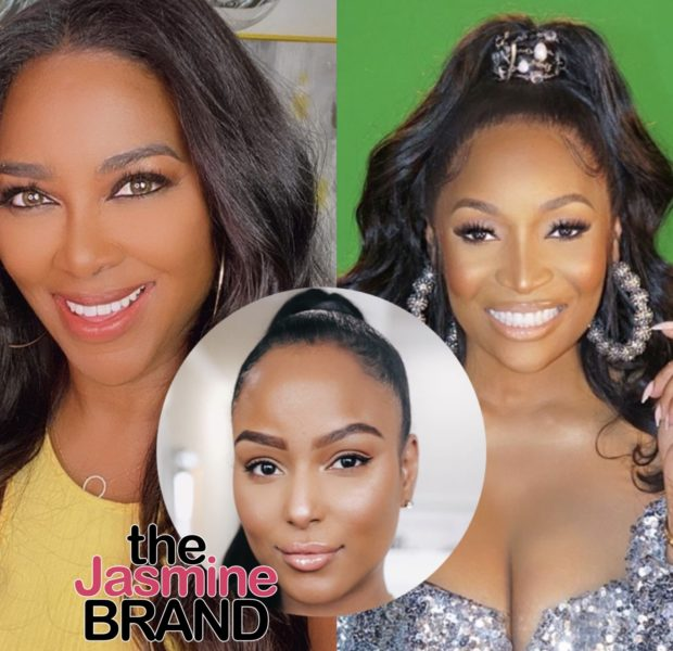 RHOA's Kenya Moore, Marlo Hampton, & Latoya Ali Appear To Deny That They Had Sex With Stripper At Cynthia Bailey's Bachelorette Party [VIDEO]
