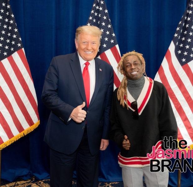 Lil Wayne Is All Smiles While Posing With Trump: We Had A Great Meeting