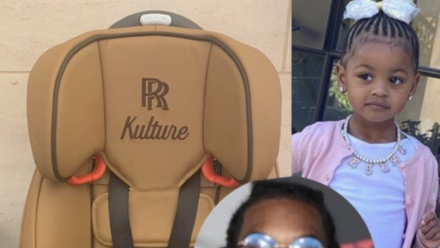 Offset Paid $8,000 For The Car Seat He Bought For Cardi B's Rolls Royce Truck [Photo]