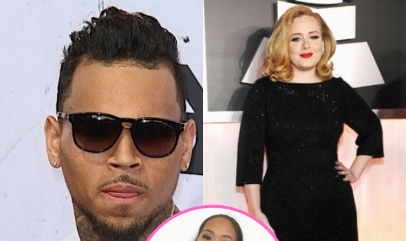 Chris Brown Makes Late Night Visit To Adele In London, Reportedly Brought Rumored Boo Gina Huynh To The UK