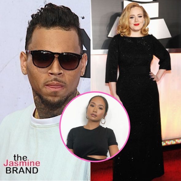 Chris Brown Makes Late Night Visit To Adele In London Reportedly Brought Rumored Boo Gina Huynh To The Uk Thejasminebrand