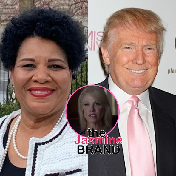 Alice Marie Johnson Tests Negative For COVID-19 After Traveling W/ Donald Trump + Ex White House Senior Counselor Kellyanne Conway Tests Positive