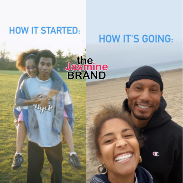 Amanda Seales Takes Part In 'How It Started' Challenge W/ Photos Of Mystery Guy