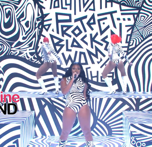 Megan Thee Stallion Says 'Protect Black Women' During SNL Performance [VIDEO]