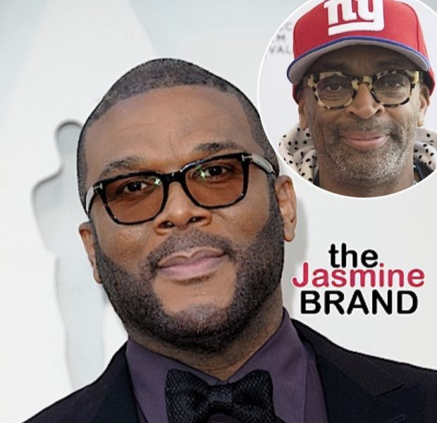 "Tyler Perry Says Spike Lee Criticizing Him ""Stung Because I Have So Much Respect For Him"", But Adds ""We Can Both Exist With Different Views"""