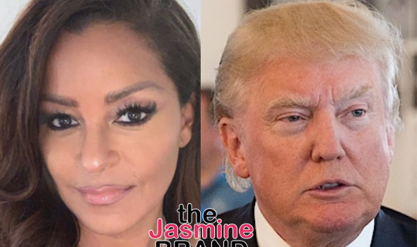 Claudia Jordan Says Trump Was Nice To Her On 'Celebrity Apprentice' Because He Wanted To Sleep W/ Her