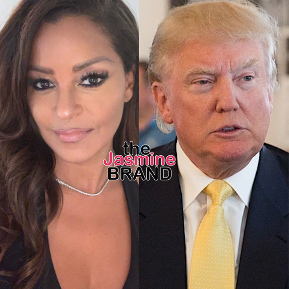 EXCLUSIVE: Claudia Jordan Denies Claims Of Accepting Trump's White House Invitation To Have Heart-To-Heart Conversation About Issues Facing Black Community