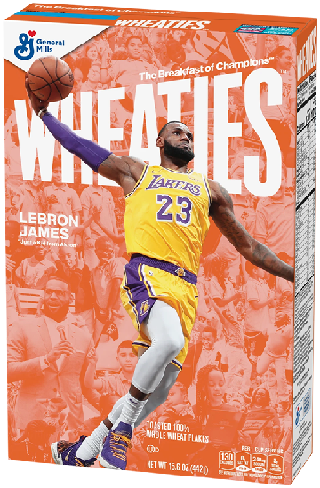 LeBron James Covers Iconic Wheaties Cereal Box Along With Students & Staff Of His 'I Promise' School