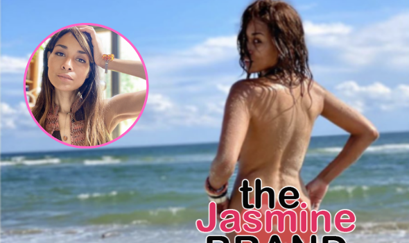 Ex 'Real Housewives Of Potomac' Star Katie Rost Poses Nude & Says To 'Kiss Her Flat A**'
