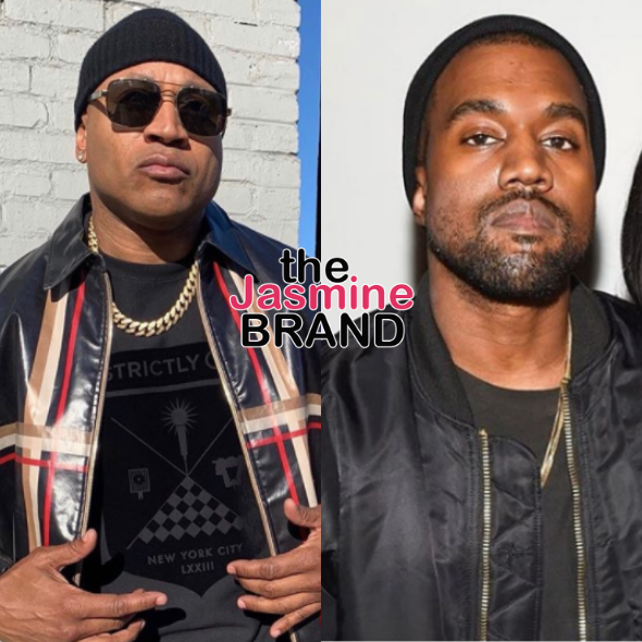 LL Cool J 'Felt Some Kind Of Way' About Kanye West Urinating On A Grammy Award: Piss In A Pair Of Them Yeezys