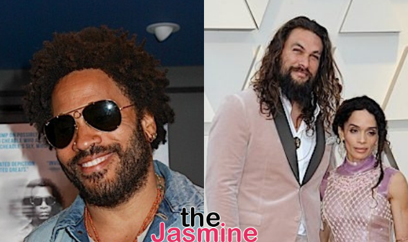 Lenny Kravitz On Friendship W/ Ex Lisa Bonet & Her Husband Jason Momoa: People Can't Believe How Tight We Are