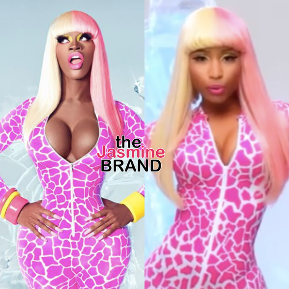 Lil Nas X Channels Nicki Minaj For Halloween & Fans Have A Field Day