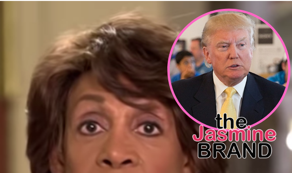 Rep. Maxine Waters Says She'll 'Never Forgive' Black Male Trump Supporters: They Will Go Down In History As Having Done The Most Despicable Thing