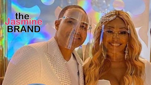 Gizelle Bryant Left Cynthia Bailey & Mike Hill's Wedding After Guests Took Off Their Masks: I Just Got Very Nervous