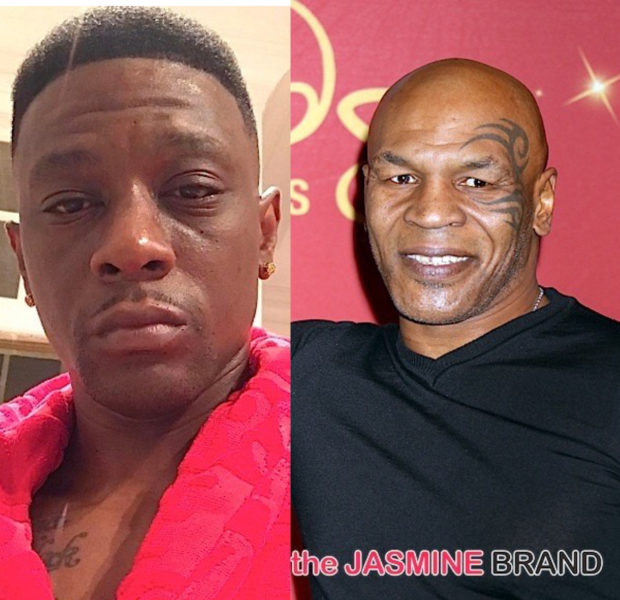 Boosie Says His Interview W/ Mike Tyson Was 'Weird' + Boxer's Daughter 'Walked Out' After They 'Didn't See Eye To Eye'