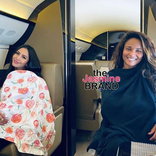 Vanessa Bryant & Ciara Breastfeed Their Little Ones Together: Mom Life