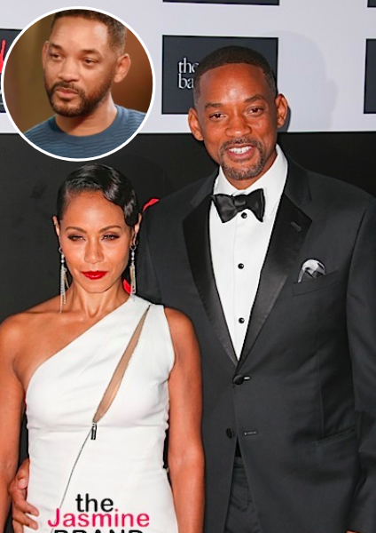 Will Smith & Jada Pinkett Smith Laugh Off 'Entanglement' Memes: He Wasn't Crying!