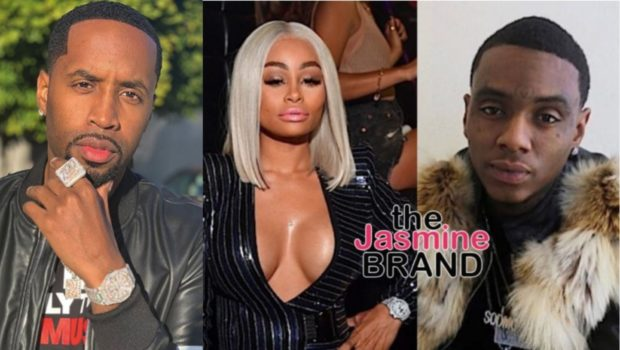 Blac Chyna Walks Out Of Interview After Being Asked About Safaree Samuels & Soulja Boy: Don't Play With Me