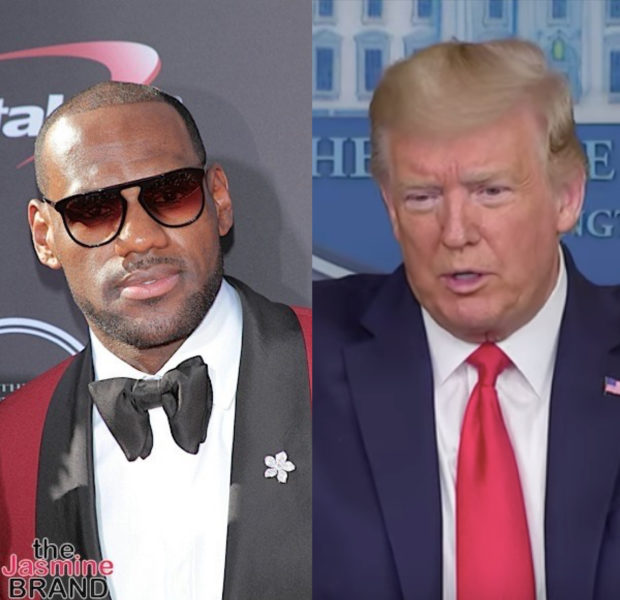Donald Trump Slams Lebron James, Calls Him A 'Nasty Spokesman' And A 'Hater'