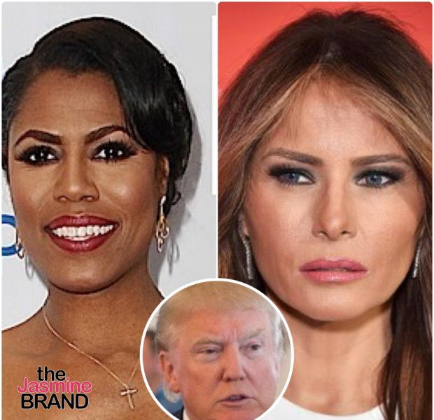 "Omarosa Claims Melania Trump Is Sometimes ""Repulsed"" By Donald Trump"
