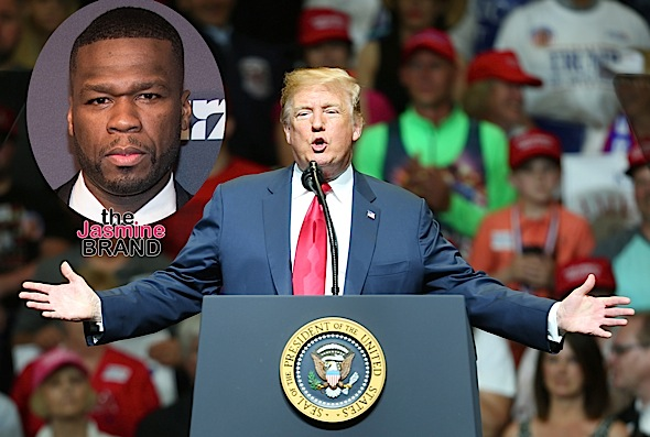 50 Cent Seemingly Endorses Trump For President: I Don't Care (If) He Doesn't Like Black People