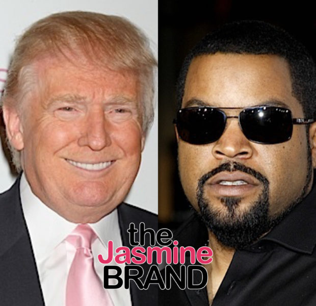 "Ice Cube Responds ""N*gg* Please"" To A Manipulated Photo Of Him Wearing A Trump Hat"