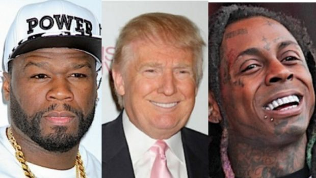 50 Cent Says He Was Offered $1 Million From Trump's Administration, Suggests Lil Wayne 'Easily' Got Paid For Trump Endorsement