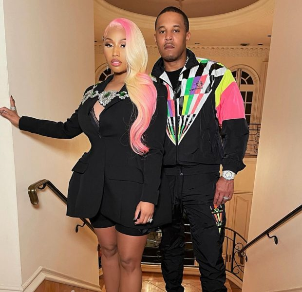 Nicki Minaj Reveals Post Pregnancy Body With Husband Kenneth Petty [Photos]