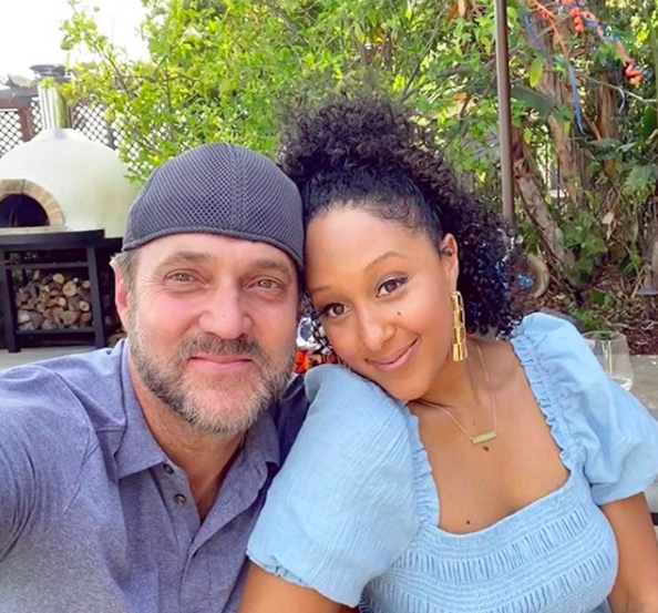 Tamera Mowry's Husband Adam Housley Investigating Voter Fraud In PA, Alleges Ballots Mailed To Deceased Were Sent Back