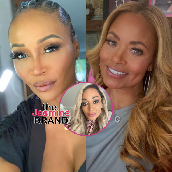 Cynthia Bailey 'Wasn't Happy' About Gizelle Bryant's Comments On Her Wedding, Karen Huger Claims